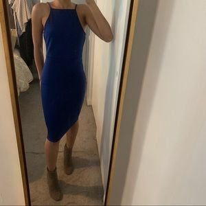 NWOT Urban Outfitters Royal Blue Small Dress